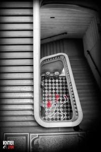 Escalier du crime au festival Quai du Polar Lyon