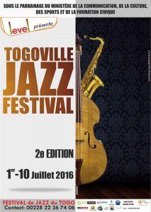 Affiche du Togoville Jazz Festival